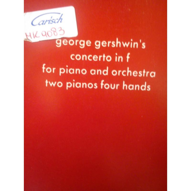 George Gershwin's concerto in f