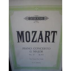 Mozart – Piano concerto in g major