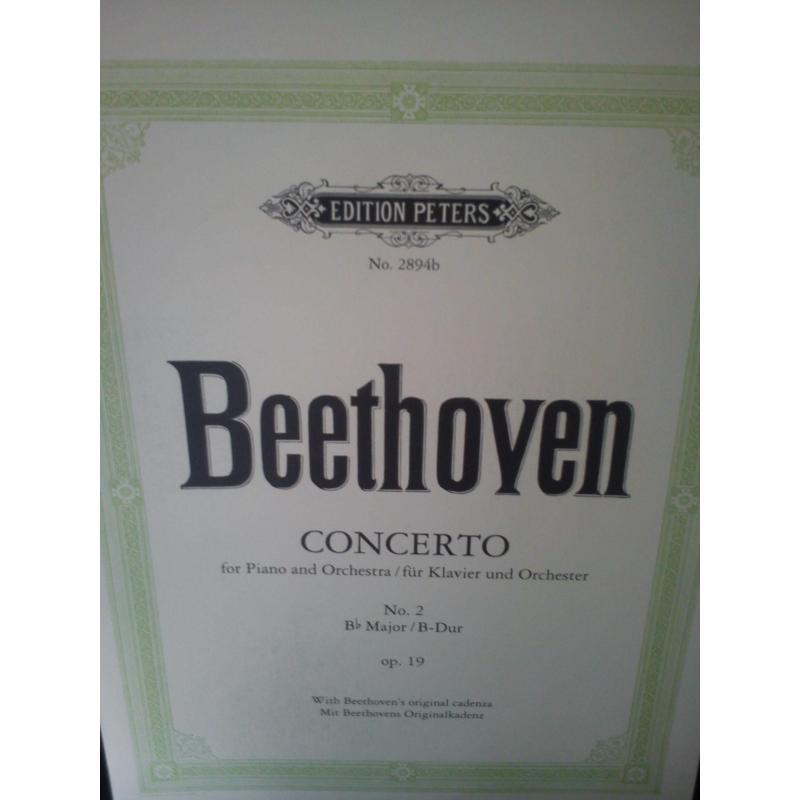 Beethoven – Concerto op 19