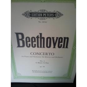 Beethoven – Concerto op 58