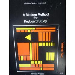 James Progris – A modern method for keyboard study vol two