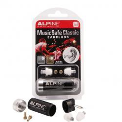 SET EARPLUG ALPINE MUSICSAFE CLASSIC 2014