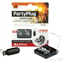 SET EARPLUG ALPINE PARTYPLUG MKII SILVER EDITION