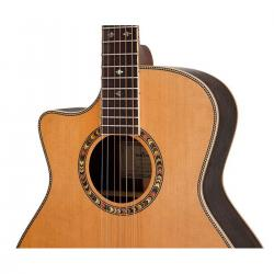 CHITARRA ACUSTICA GRAND AUDITORIUM DOWINA CABERNET GAE-S-DS CON PRE ELLIPSE MATRIX BLEND FISHMAN