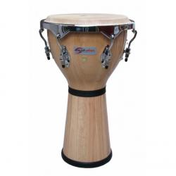 "DJEMBE SOUNDSATION PRO SDJ002-NT 1 NATURALE 12"" HW-CR"