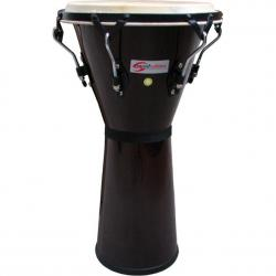 "DJEMBE SOUNDSATION SDJ01-DW DARK WOOD 12"" 1/2"" HW-BK"