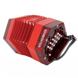 CONCERTINA SOUNDSATION SACON-1503-RD 15 TASTI