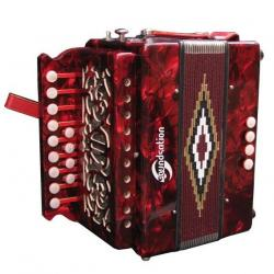 ORGANETTO SOUNDSATION SAC-1304C-RD RED IN DO