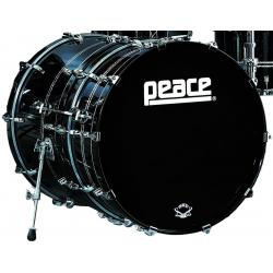 "BASS DRUM 22""x8"" PEACE SERIE DP-DC2208BO 295 BLACK CASTLE"