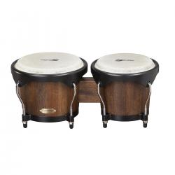 "BONGOS SOUNDSATION SB01M-MH 6""+7"" MANGO SATIN NATURAL HW-B"