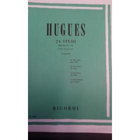 Hugues – 24 studi per flauto (dall'opera 32 e 75)