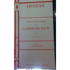 Hugues – 24 duetti per 2 flauti