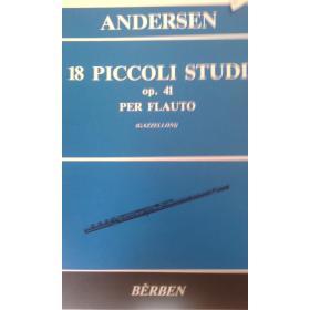 Andersen – 18 piccoli studi op 41