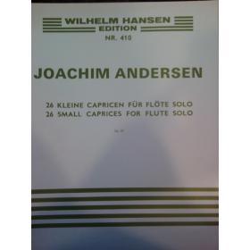 Joachim Andersen – 26 kleine capricen fur folte solo op 37
