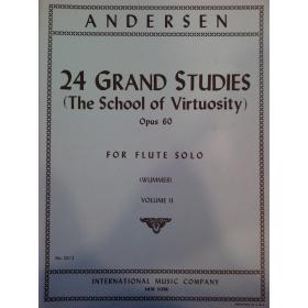 Andersen – 24 s gran studies opus 60 volume 2
