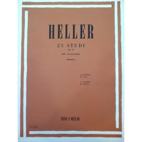 Heller – 25 studi op 47