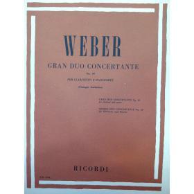 Weber – Gran duo concertante op 48