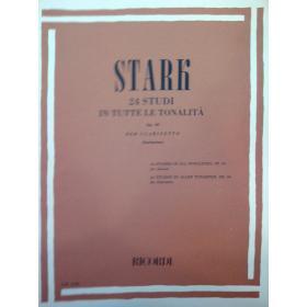 Stark – 24 studi in tutte le tonalite op 49