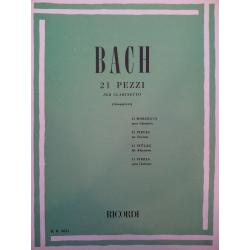 Bach – 21 pezzi
