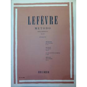 Lefèvre – metodo per clarinetto vol 2