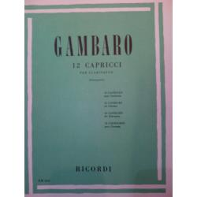 Gambaro – 12 capricci