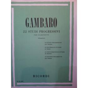 Gambaro – 22 studi progressivi