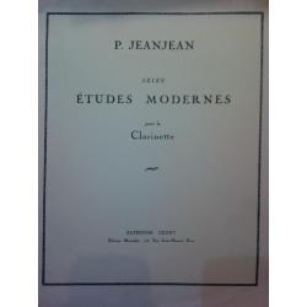 USATO: P.JeanJean – ètudes modernes pour la clarinette