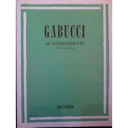 Gabucci – 60 divertimenti per clarinetto