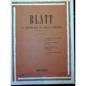 Blatt – 24 esercizi di meccanismo