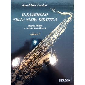 Jean Marie Londeix - il sassofono nella nuova didattica vol 2