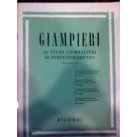 Giampieri – 16 studi giornalieri di perfezionamento
