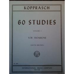 Kopprasch – 60 studies volume 1