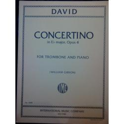 David – Concertino in Eb major opus 4