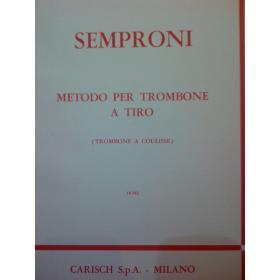 Semproni – Metodo per trombone
