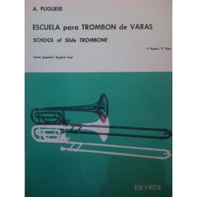 A – Pugliese Escuela para trombon de Varas 1 parte