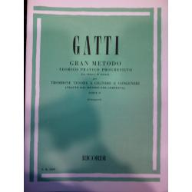 Gatti – Gran metodo teorico pratico progressivo per trombone