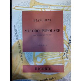 Bianchini – Metodo popolare per trombone tenore