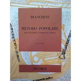 Bianchini – Metodo popolare per flicorno contralto