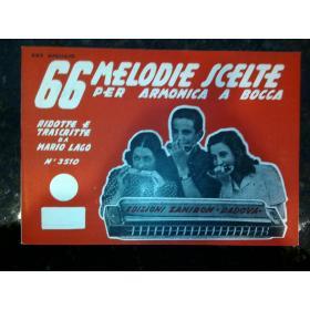 Mario lago – 66 melodie scelte per armonica a bocca