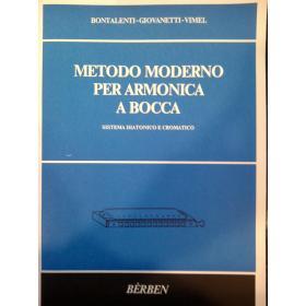Bontalenti – Giovanetti – Vimel – Metodo moderno per armonica a bocca
