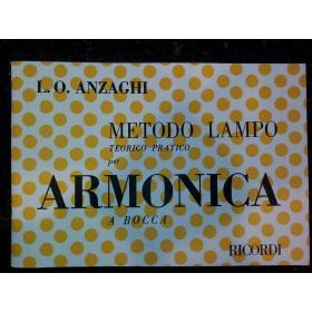 L.O. Anzaghi – Metodo lampo teorico pratico per armonica