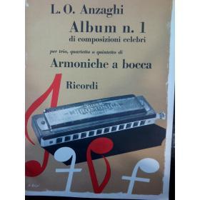 L.O. Anzaghi – album n.1 di composizioni celebri per armonica a bocca