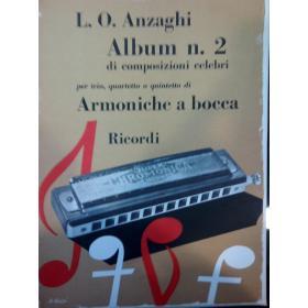 L.O. Anzaghi – album n.2 di composizioni celebri per armonica a bocca