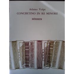 Adamo volpi – Concertino in re minore