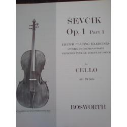 Otakar Ševčík - Op. 1, Part 1 for Cello