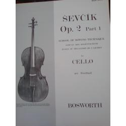 Otakar Ševčík - Op. 2, Part 1 for Cello