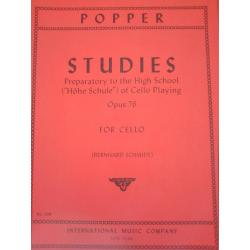 David Popper - Studies for Cello