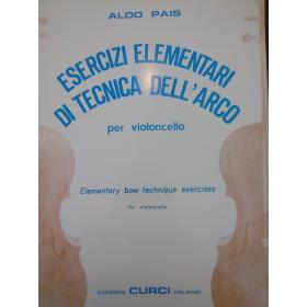 Aldo Pais – Esercizi elementari di tecnica dell'arco