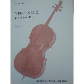 Aldo Pais – Venti Studi per Violoncello (Libro 1)