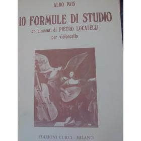 Aldo Pais – 10 Formule di Studio per Violoncello